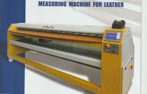 New measuring machine for leather Type C