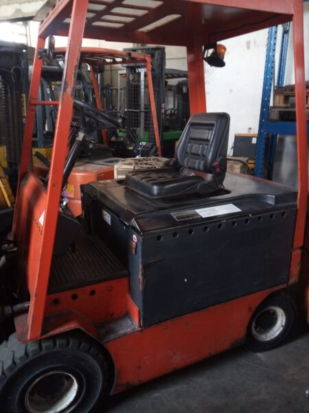 forklift truck tannery trade