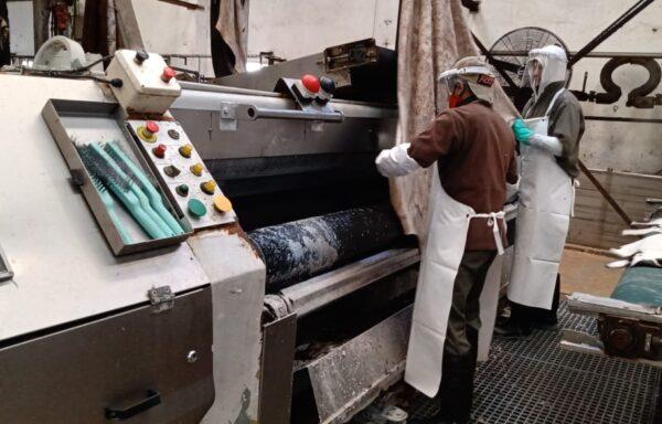 Brand Mosconi Fleshing machine 3200 mm – N° 1390