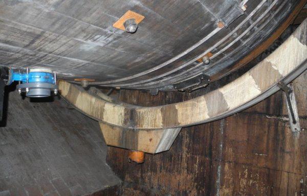 Wooden Drum inside PPH diameter 3,30 x 3,30 mt. – N° 1647