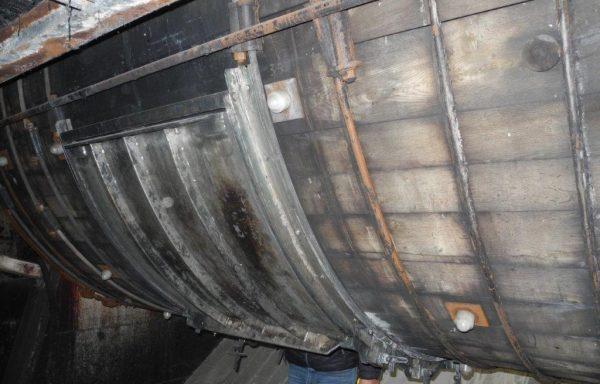 Wooden Drum inside PPH diameter 3,20 x 3,25 mt – N° 1631
