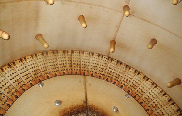 Wooden Drum inside PPH diameter 3,20 x 3,50 mt. – N° 1654